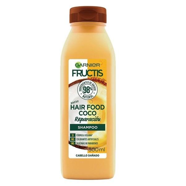 GARNIER - Fructis Hair Food Coco Shampoo - 300 ml
