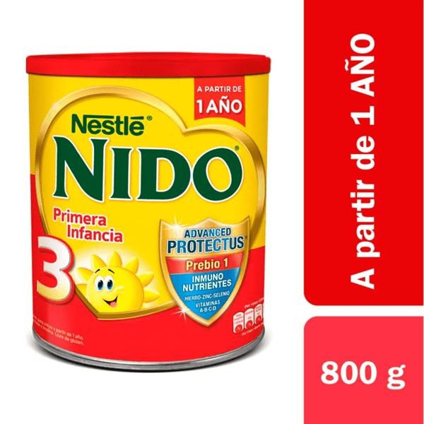 Leche Nido 3, Lata 800 gr