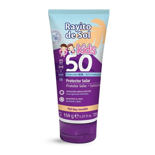 Rayito De Sol Protector Solar Crema SPF 50 150g