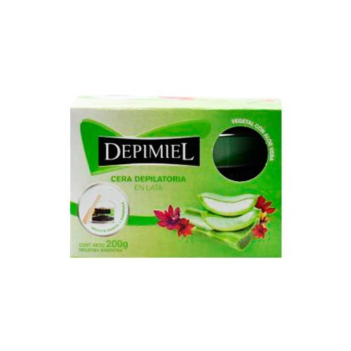 Depimiel, cera en lata Vegetal 200 g