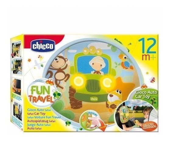 Chicco Juguete Fun Travel Auto Safari