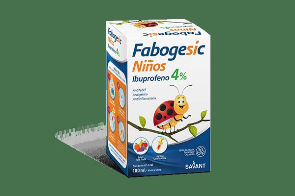 Fabogesic Niños Ibuprofeno x100ml 2x1