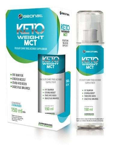 Suplemento Dietario Keto Weight MCT 2 Envases x150ml