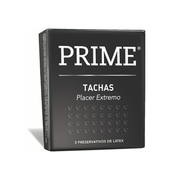 Preservativos Prime Tachas Placer Extremo X3