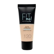 MYMB Fitme Matte 120 Classic Ivory Maquillaje