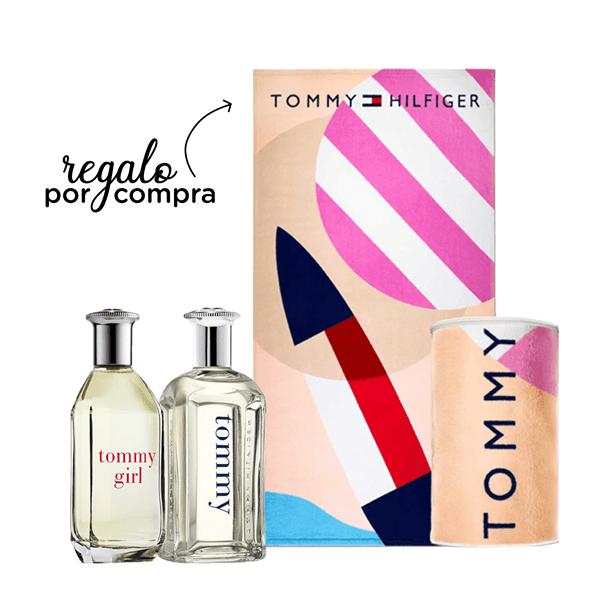 Perfume Tommy Hilfiger Girl 100ml + Tommy Hilfiger Men 100ml + Toalla