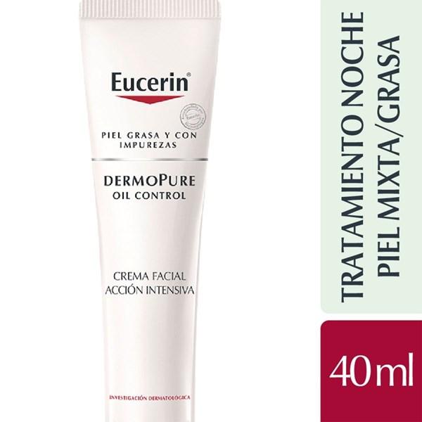 Eucerin Crema Facial x 40ml Dermopure Noche