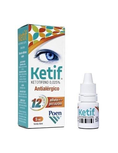 Ketif Gotas Oftálmicas Antialérgico X 5 Ml