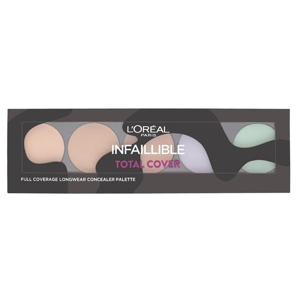 L'Oreal Corrector Paleta Infallible Total Cover x5