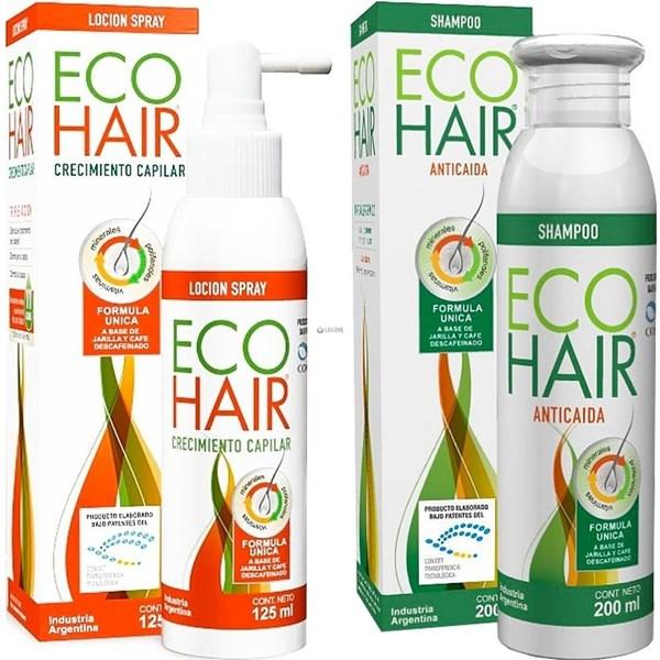 Ecohair Tratamiento Caida Cabello Loción y Shampoo