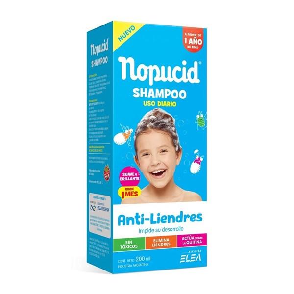 Nopucid Shampoo Uso Diario Anti-Liendres 200 Ml