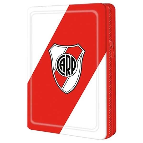 Cartuchera Mooving 1 Piso Escolar River Plate