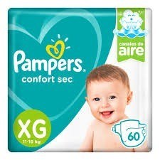 Pampers Confort Sec XG x 60