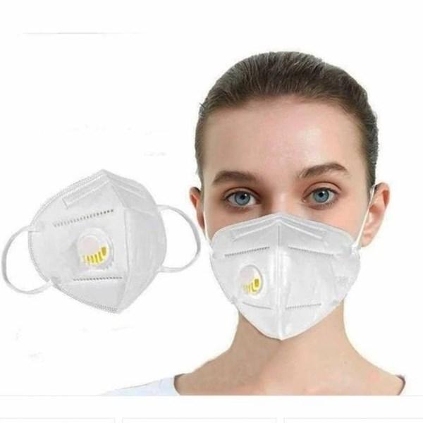 Barbijo KN95 Con Válvula Respiradora