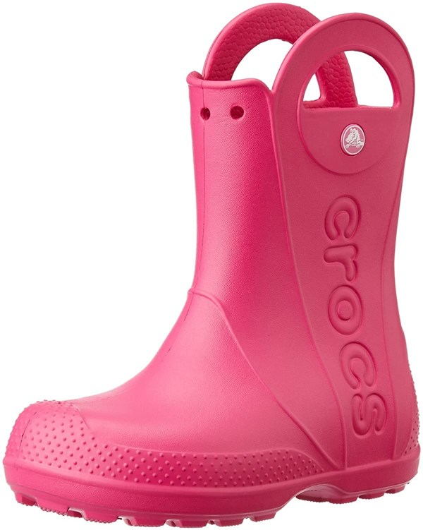Crocs Handle It Rain Boot Kids- Fucsia 23-34