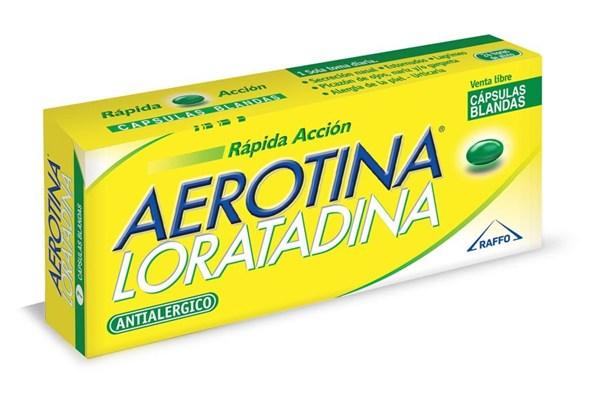 Aerotina Loratadina 7 Caps Blandas