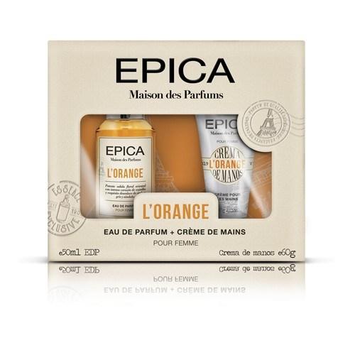 Perfume Epica Maison Des Parfums Cofre L'Orange