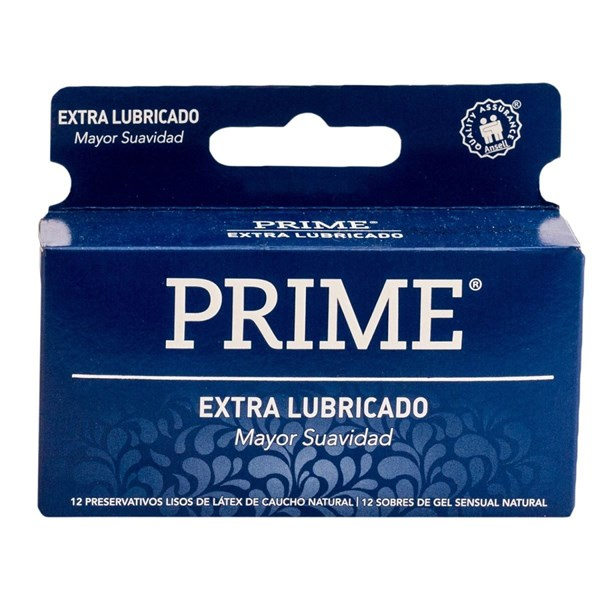 Prime Preservativo Extra Lubricado X 12