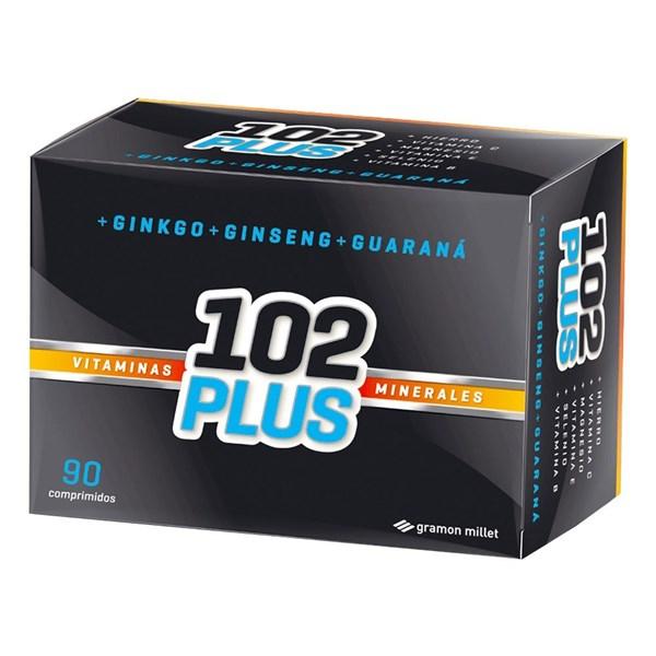 102 Plus Vitaminas Minerales 90 Comprimidos