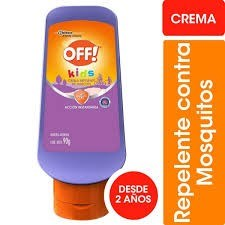 Off Repelente Crema 90g Kids Active