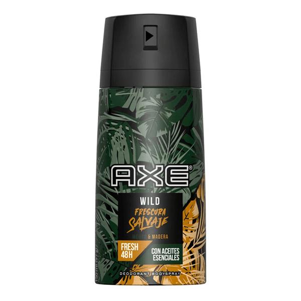 Axe Desodorante Frescura Salvaje Aerosol x150ml ENERO