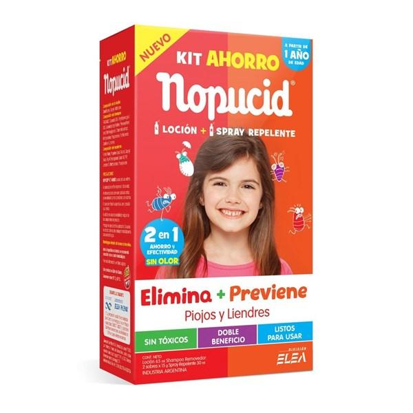 Nopucid Kit Ahorro Loción + Spray Repelente A