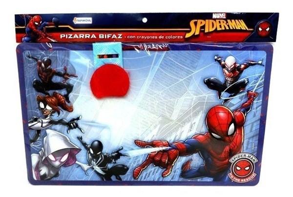 Pizarra Bifaz Spiderman