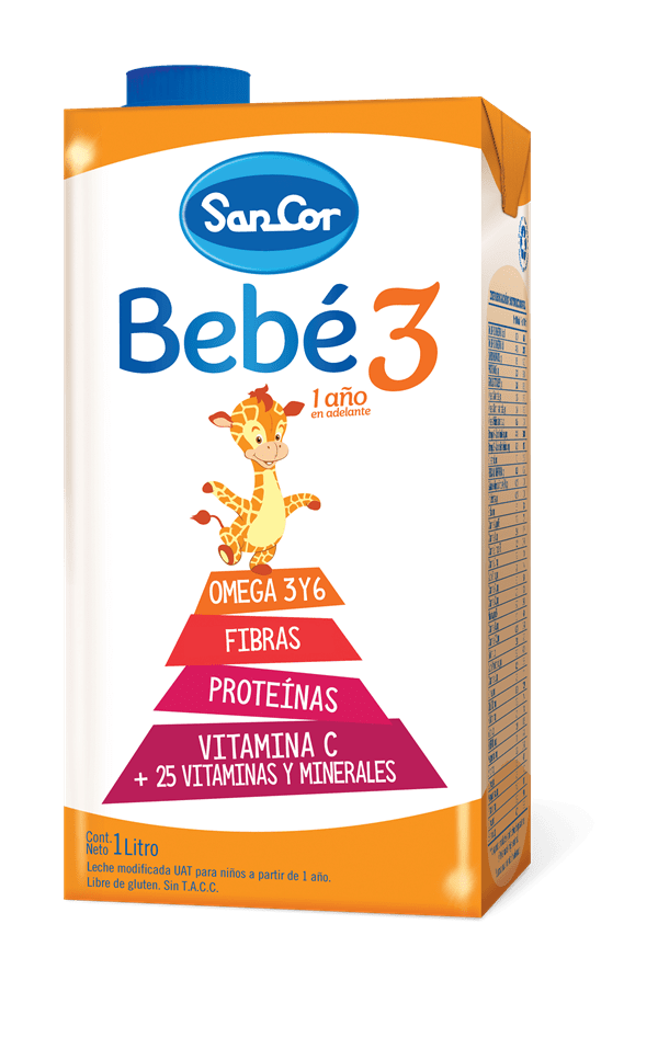 Leche Infantil Líquida Sancor Bebé Etapa 3 X 1L
