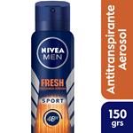 Nivea Desodorante En Aerosol Men Fresh Sport X 150 Ml #1