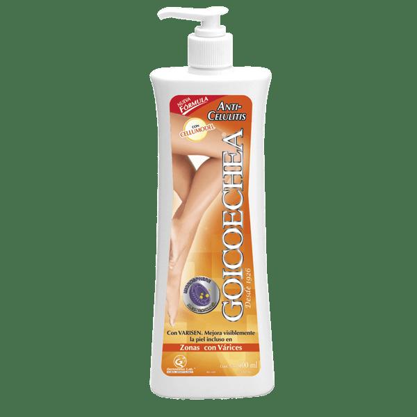 Goicoechea Anti-celulitis Cellumodel NF con mph Crema 400 ml
