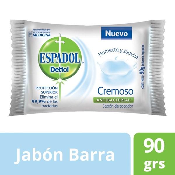 Jabón De Tocador Antibacterial Espadol X 90 Gr