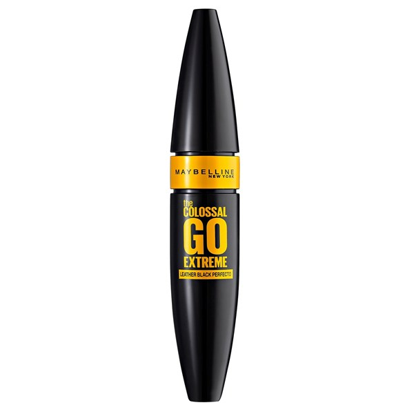 Máscara de pestañas Maybelline The Colossal Go Extreme Intense Black WashableX 9.5 Ml