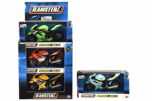 Moto Juguete Teamsterz x1