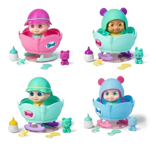 Muñecos Sorpresa Baby Buppies Interactivos Con Accesorios alt