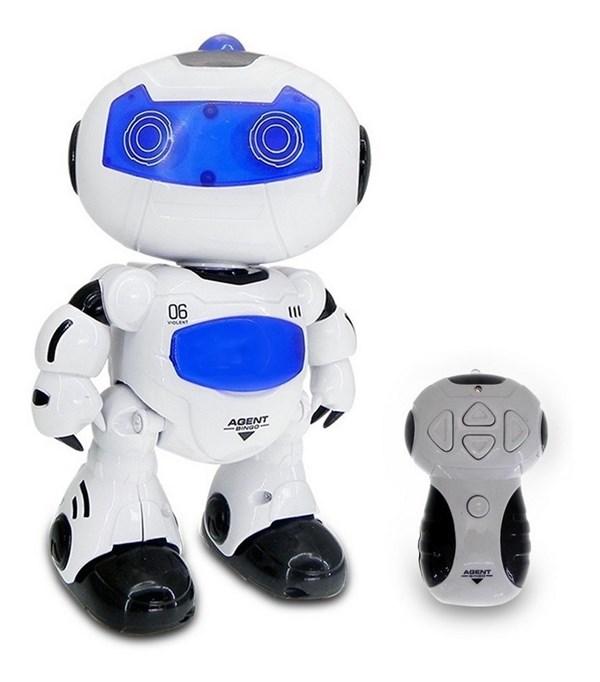 Robot Interactivo Con Luz y Sonido