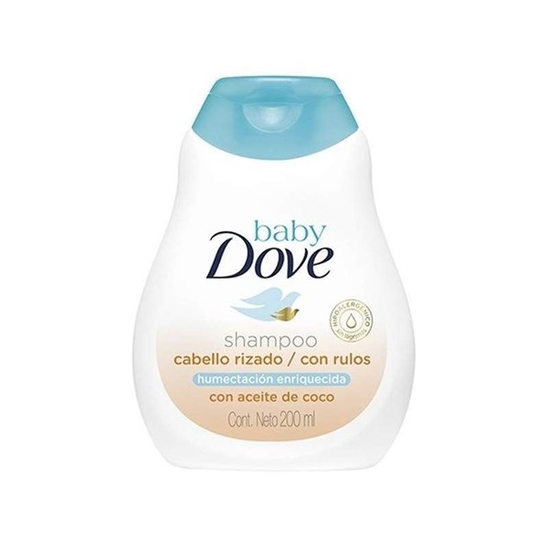 Dove Baby Shampoo Cabellos Rizados 200ml