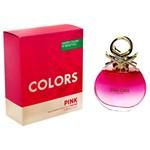 Benetton Eau De Toilette x 80ml Colors Pink #1