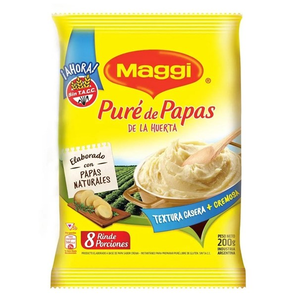 PURE DE PAPAS MAGGI x 200 GRS
