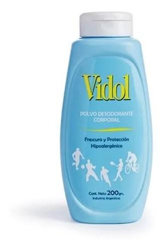 Vidol Talco Desodorante Corporal 200gr