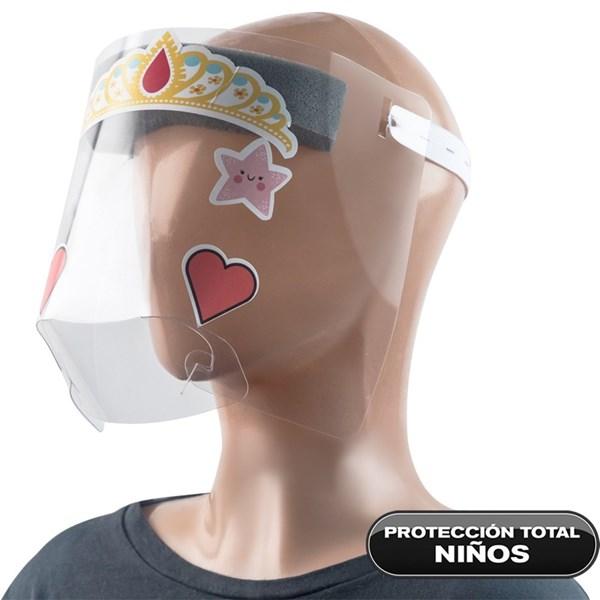 Máscara Sanitaria Infantil Con Stickers x1 alt