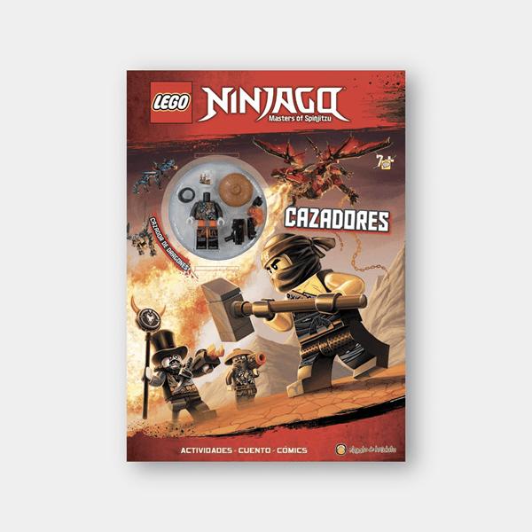 Ninjago Cazadores Libro Lego