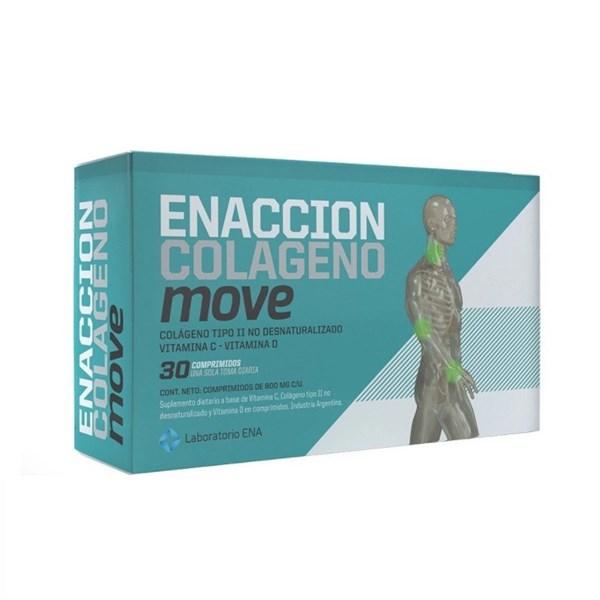 Enaccion Colageno Move - Lanzamiento X 30 Comp