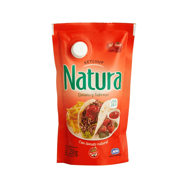 KETCHUP NATURA DP x 250 CC