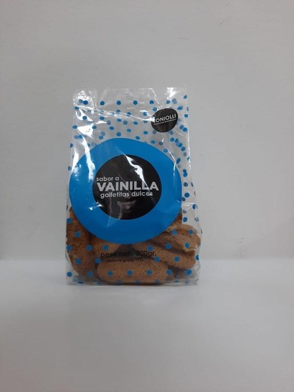GALLETITAS TONIOLLI VAINILLA x 350 GRS