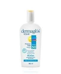 Dermaglos Niños F50 X 180ml Emulsion Pro Sol  ENERO