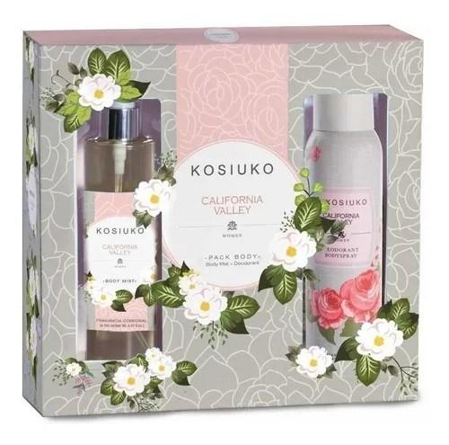 Kosiuko Cofre California Valley 150ml + Desodorante 127ml