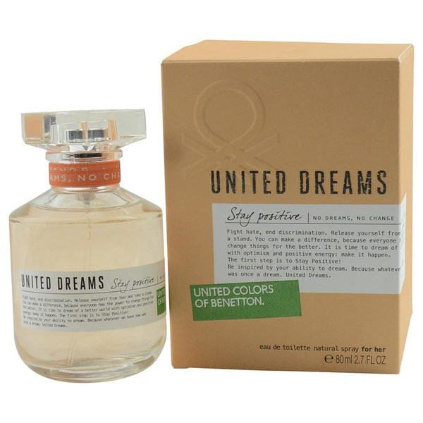Benetton United Dreams Stay Positive EDT x 80ml