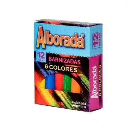 Caja Tizas de Colores Alborada x12 #1