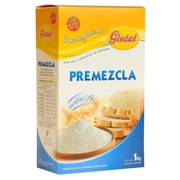 PREMEZCLA S/GLUTEN GLUTAL x 1 KG