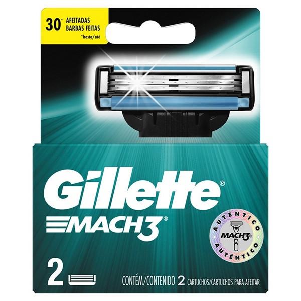Cartucho Gillette Mach3 X 2 Unidades alt